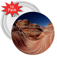 Petrified Sand Dunes 3  Buttons (10 Pack)  by trendistuff