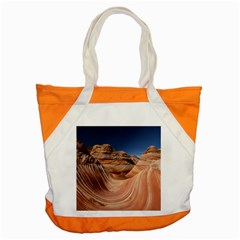 Petrified Sand Dunes Accent Tote Bag  by trendistuff