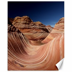 Petrified Sand Dunes Canvas 16  X 20   by trendistuff