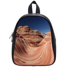Petrified Sand Dunes School Bags (small)  by trendistuff