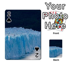Perito Moreno Glacier Playing Cards 54 Designs