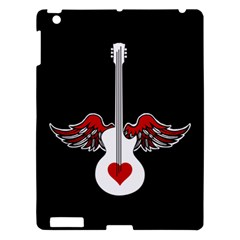 Flying Heart Guitar Apple Ipad 3/4 Hardshell Case