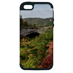 Natural Arch Apple Iphone 5 Hardshell Case (pc+silicone) by trendistuff