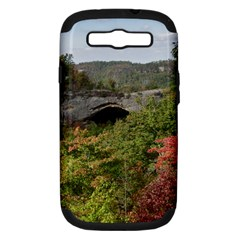 Natural Arch Samsung Galaxy S Iii Hardshell Case (pc+silicone) by trendistuff