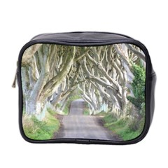 Dark Hedges, Ireland Mini Toiletries Bag 2 Side by trendistuff