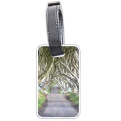 Dark Hedges, Ireland Luggage Tags (two Sides) by trendistuff