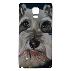 The Schnauzer Galaxy Note 4 Back Case