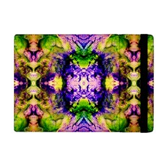 Green,purple Yellow ,goa Pattern Apple Ipad Mini Flip Case by Costasonlineshop