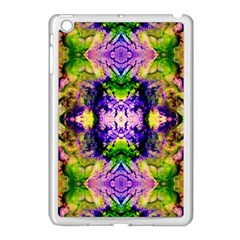 Green,purple Yellow ,goa Pattern Apple Ipad Mini Case (white) by Costasonlineshop