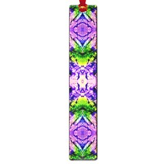 Green,purple Yellow ,goa Pattern Large Book Marks by Costasonlineshop