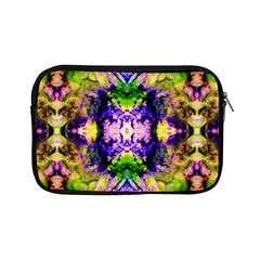 Green,purple Yellow ,goa Pattern Apple Ipad Mini Zipper Cases by Costasonlineshop