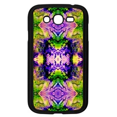 Green,purple Yellow ,goa Pattern Samsung Galaxy Grand Duos I9082 Case (black) by Costasonlineshop
