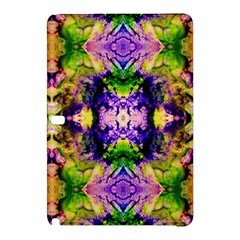 Green,purple Yellow ,goa Pattern Samsung Galaxy Tab Pro 12 2 Hardshell Case by Costasonlineshop
