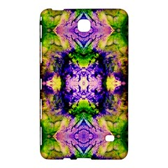 Green,purple Yellow ,goa Pattern Samsung Galaxy Tab 4 (8 ) Hardshell Case  by Costasonlineshop