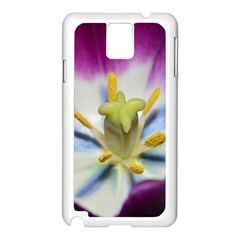 Purple Beauty Samsung Galaxy Note 3 N9005 Case (white) by timelessartoncanvas