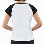 Spiral Skull Women s Cap Sleeve T Back