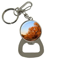 Beautiful Autumn Day Bottle Opener Key Chains by trendistuff