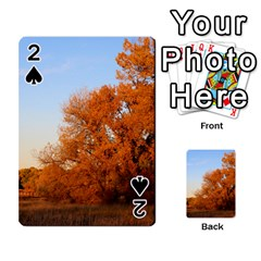 Beautiful Autumn Day Playing Cards 54 Designs  by trendistuff