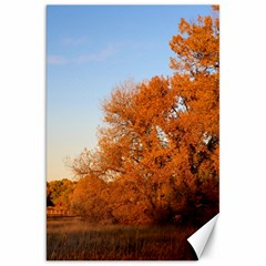 Beautiful Autumn Day Canvas 20  X 30   by trendistuff