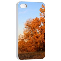 Beautiful Autumn Day Apple Iphone 4/4s Seamless Case (white) by trendistuff
