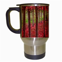 Avenue Of Trees Travel Mugs (white) by trendistuff