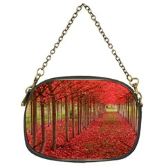 Avenue Of Trees Chain Purses (one Side)  by trendistuff