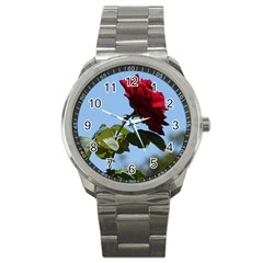 Red Rose 2 Sport Metal Watches