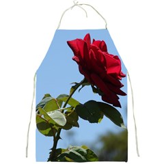 Red Rose 2 Full Print Aprons by trendistuff