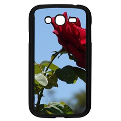 Red Rose 2 Samsung Galaxy Grand Duos I9082 Case (black) by trendistuff