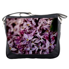 Purple Lilacs Messenger Bags by trendistuff