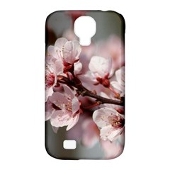 Plum Blossoms Samsung Galaxy S4 Classic Hardshell Case (pc+silicone) by trendistuff