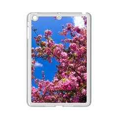Pink Flowers Ipad Mini 2 Enamel Coated Cases by trendistuff