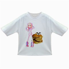 Mal Girl And Mr Pancake Infant/toddler T Shirts