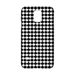 Black And White Scallop Repeat Pattern Samsung Galaxy S5 Hardshell Case  by PaperandFrill