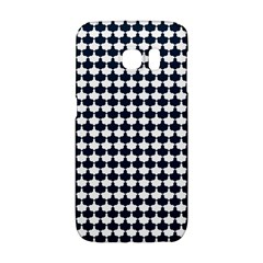 Navy And White Scallop Repeat Pattern Galaxy S6 Edge by PaperandFrill