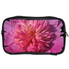 Paeonia Coral Toiletries Bags 2 Side by trendistuff