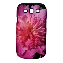 Paeonia Coral Samsung Galaxy S Iii Classic Hardshell Case (pc+silicone) by trendistuff