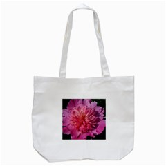 Paeonia Coral Tote Bag (white)  by trendistuff