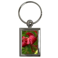 Lilium Red Velvet Key Chains (rectangle)  by trendistuff