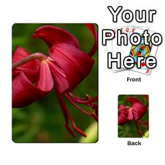 Lilium Red Velvet Multi Purpose Cards (rectangle)  by trendistuff