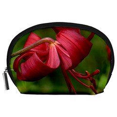 Lilium Red Velvet Accessory Pouches (large)  by trendistuff