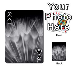 Dandelion Playing Cards 54 Designs