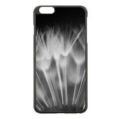 Dandelion Apple Iphone 6 Plus/6s Plus Black Enamel Case