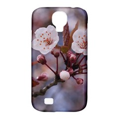 Cherry Blossoms Samsung Galaxy S4 Classic Hardshell Case (pc+silicone) by trendistuff