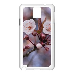 Cherry Blossoms Samsung Galaxy Note 3 N9005 Case (white) by trendistuff