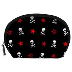 Stars, Skulls & Crossbones Accessory Pouches (large)  by waywardmuse