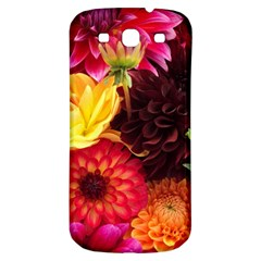 Bunch Of Flowers Samsung Galaxy S3 S Iii Classic Hardshell Back Case by trendistuff