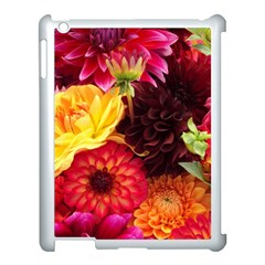Bunch Of Flowers Apple Ipad 3/4 Case (white) by trendistuff