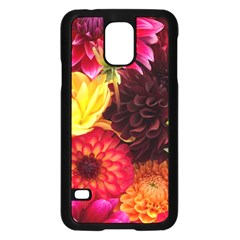 Bunch Of Flowers Samsung Galaxy S5 Case (black) by trendistuff