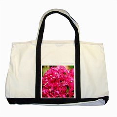 Bougainvillea Two Tone Tote Bag